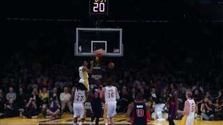 Wesley Johnson's Big Alley Oop Dunk