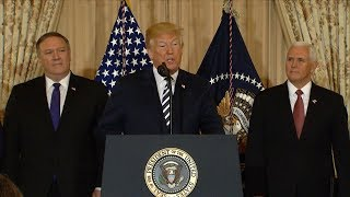 Pres. Trump addresses border family separation at meeting  with National Space Council | ABC News - ABCNEWS