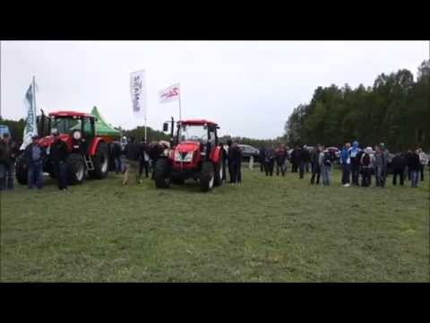Zbiór zielonki na kiszonkę - Osówiec Kmiecy 16.05.2014 Agromasz