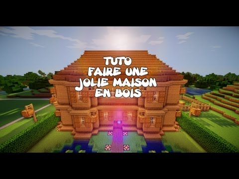 Related video - Maison en bois minecraft ...