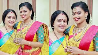 Actress Seetha's Daughter Keerthana Engagement Photos With Family - RAJSHRITELUGU