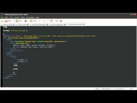 PHP Tutorial: Page View Counter [part 02]