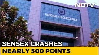 Sensex Cracks Over 650 Points, Rupee Weakest Since November 20 - NDTVPROFIT