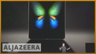📱 Can Galaxy Fold, S10 range help Samsung tame falling sales? | Al Jazeera English - ALJAZEERAENGLISH