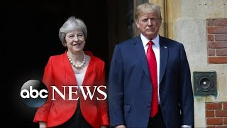 Trump criticizes May on Brexit while on UK visit - ABCNEWS