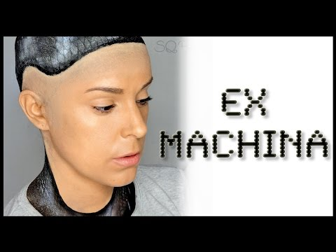 Ex-Machina special effects makeup FX | Silvia Quiros