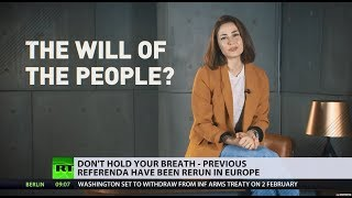 Breaking the promise: Will UK reverse the Brexit process? - RUSSIATODAY