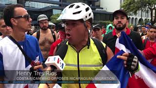 Protests in Costa Rica Turn Violent over Nicarguan Immigrants - VOAVIDEO
