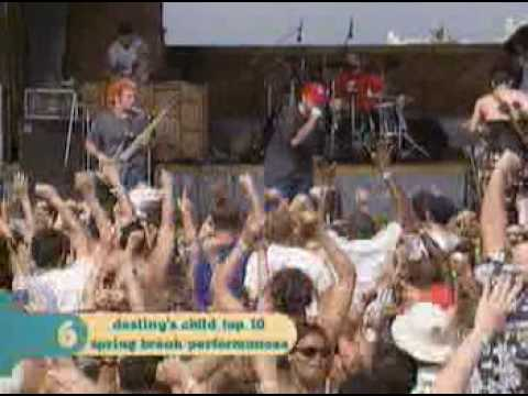 limp bizkit - faith mtv spring break 98
