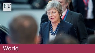 Theresa May urges EU to 'evolve' position on Brexit - FINANCIALTIMESVIDEOS
