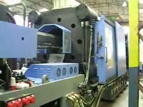 Injetora de Plástico  RDA - HN 1250  da FCS - Adaptação de acumulador na Injeção.