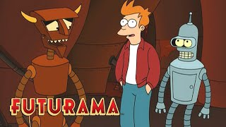 FUTURAMA | Season 5, Episode 16: A Deal With The Devil | SYFY - SYFY