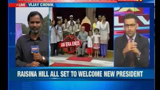 Raisina Hill all set to welcome the 14 President of India Ram Nath Kovind - NEWSXLIVE