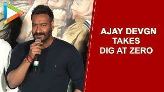 Ajay Devgn takes a DIG at ZERO | Total Dhamaal - HUNGAMA