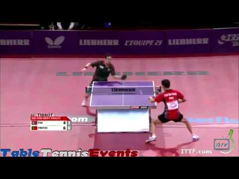 Marcos Freitas Vs Sin Hyok Pak: Round 2 [WTTC Paris 2013]