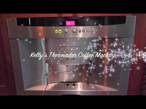 Thermador Savor Coffee Machine BICM24CS Coffee Espresso Instructions