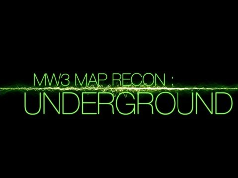 Underground - Modern Warfare 3: Multiplayer Map Walkthrough