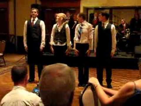OkGo Wedding Dance