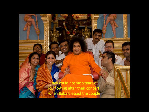 World Renowned Musicians with Sri Sathya Sai Baba