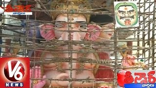 Kharithabad Ganesh Laddu made by Surachi food from East Godavari - Teenmaar News - V6NEWSTELUGU