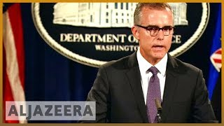 🇺🇸 FBI deputy chief Andrew McCabe fired, says he was being targeted | Al Jazeera English - ALJAZEERAENGLISH