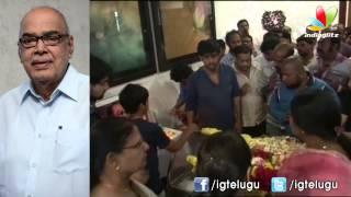 Celebs Pay Last Respects To Ramanaidu - IGTELUGU