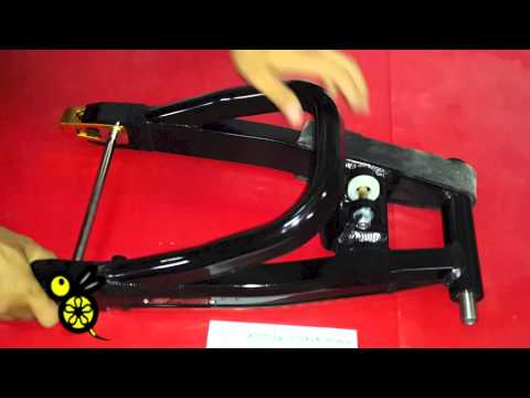 swing arm spyker ksr