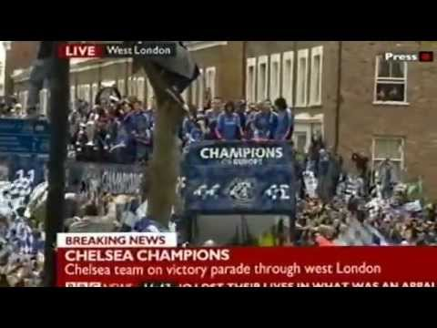 Chelsea FC Champions League Victory Parade 2012
