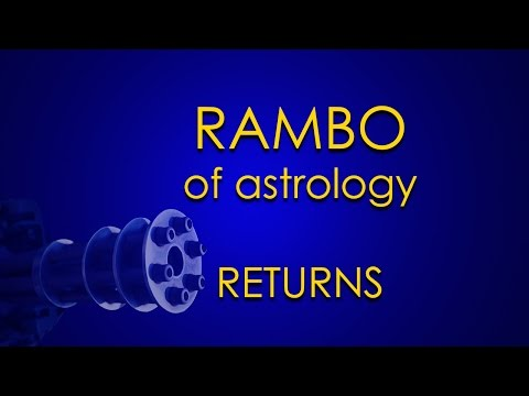 Rambo of Astrology Returns to Ground Zero