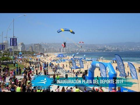 Inauguración Playa del Deporte 2019