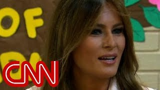 Melania Trump makes surprise visit to border - CNN