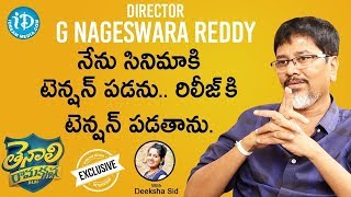 Tenali Ramakrishna Movie Director G Nageswara Reddy Full Interview || Talking Movies With iDream - IDREAMMOVIES