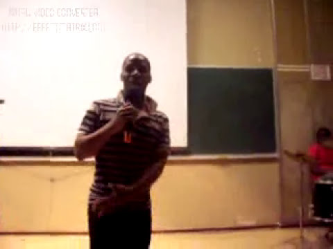 South african stand-up comedy in varsity