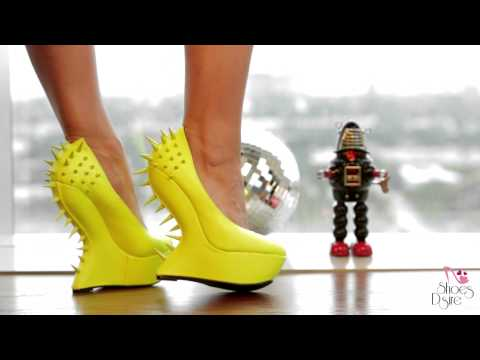 Shoes Dsire Yellow Robot