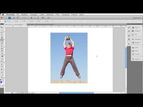 Photoshop CS4 Video-tutorial: raddrizza le tue foto con lo strumento righello