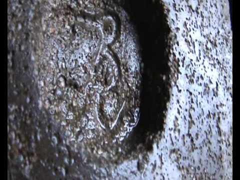 molde permanente para hacer un sello troquel en aluminio ( 4ª parte )