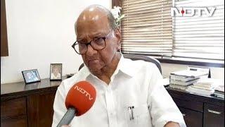 EVM को लेकर भड़के NCP चीफ शरद पवार - NDTVINDIA