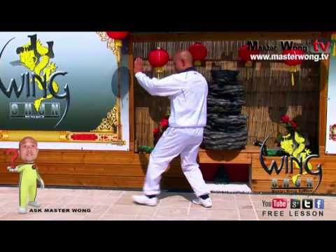 Wing chun course: How to do the basic stepping, lesson 9