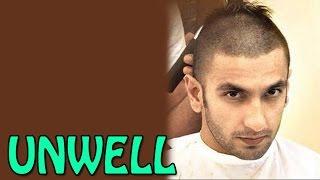 Ranveer Singh falls ill on the sets of 'Bajirao Mastaani' | Bollywood News