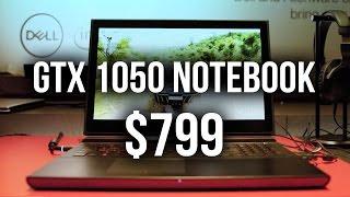 DELL GTX 1050 Gaming Notebook @ $799