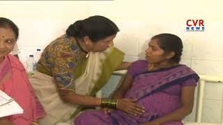 Nannapaneni Rajakumari Visits Government Maternity Hospital in Tirupati   CVR News - CVRNEWSOFFICIAL
