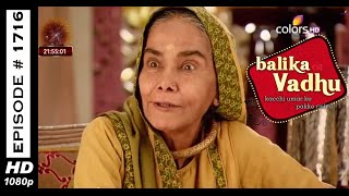 Balika Vadhu : Episode 1708 - 18th October 2014