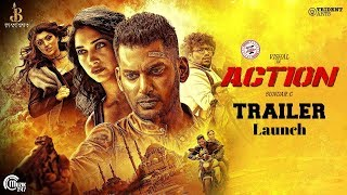 Action Telugu Trailer | Vishal |Tamannaah | Hiphop Tamizha | Sundar.C | Trailer Launch - IGTELUGU