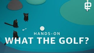 What the Golf? hands-on - ENGADGET