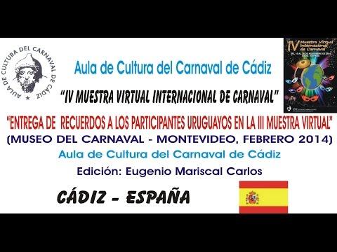 IV MUESTRA VIRTUAL - ENTREGA DE RECUERDOS A LOS PARTICIPANTES URUGUAYOS EN LA III MUESTRA VIRTUAL