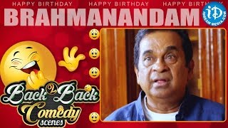 Brahmanandam Best Comedy Scenes Compilation || Happy Birthday Wishes To Brahmi From iDream Media - IDREAMMOVIES