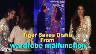 Disha ESCAPES wardrobe malfunction, thanks to Tiger - IANSLIVE