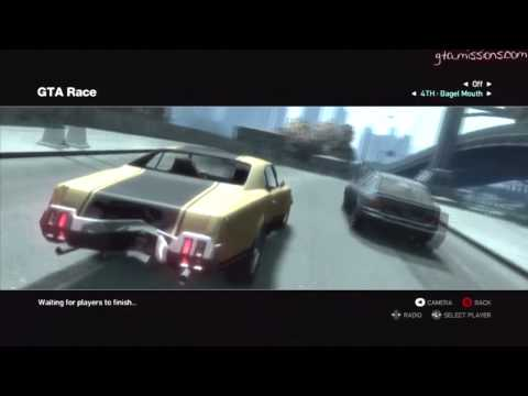 GTA IV - x360 - Online Multiplayer - Race Tournament!! - 01/24/12