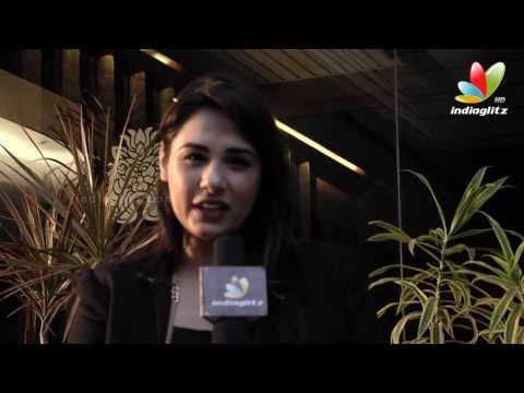 Mandy Takhar Interview | Biriyani Tamil Movie | Hot Songs | Karthi, Hansika, Premgi, Ramki