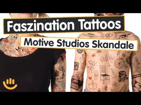 Faszination Tattoos: Motive, Studios, Skandale - Sach was